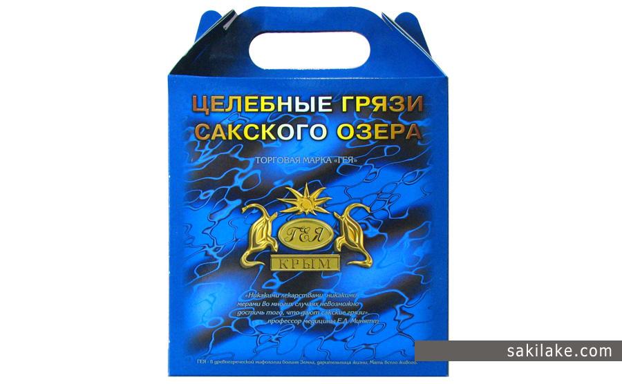 Подарочная упаковка Сакские грязи
