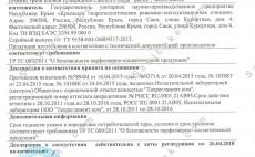 Декларация на Поровый раствор ТС № RU Д-RU.АГ96.В.05242