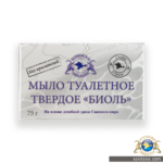 Мыло туалетное твердое Биоль 75г 01