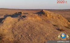 Новоселовский грязевой вулкан 2020