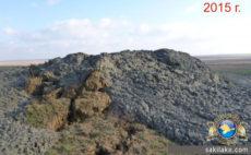 Новоселовский грязевой вулкан 2015