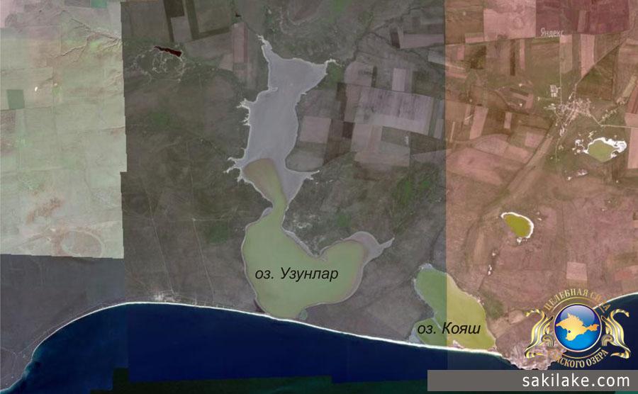 Район озер Узунлар и Кояш