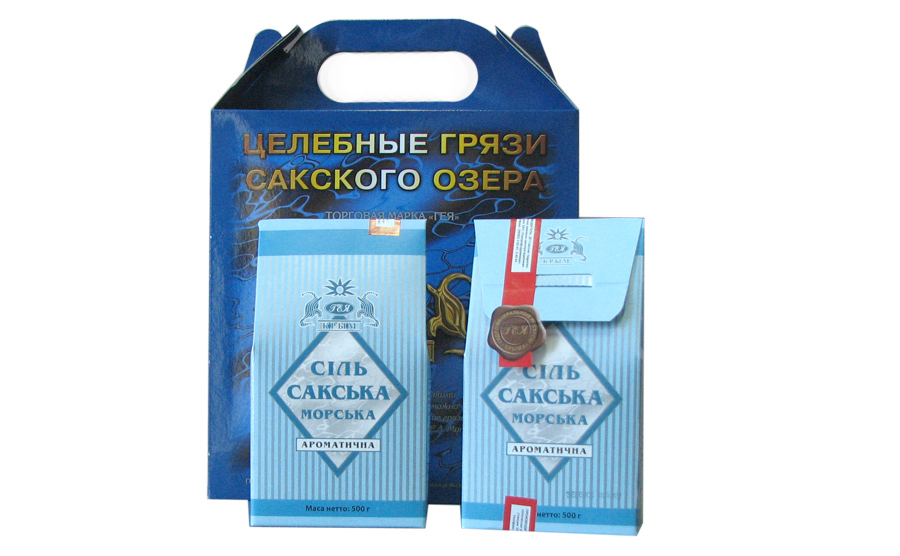 Соль Сакская морская для ванн 500г, ароматизированная