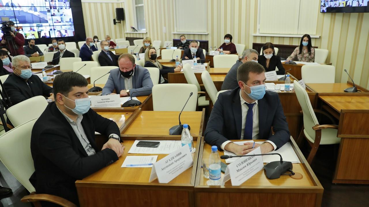 Совместное заседание коллегии и Общественного совета при Министерстве курортов и туризма