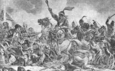 Битва казаков с татарами